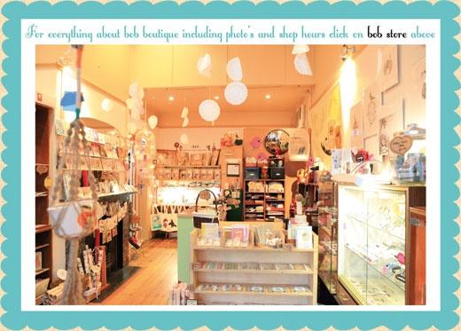 Bob boutique, a fabulous cute shop.