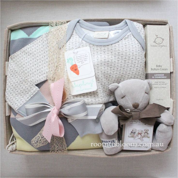 Room to Bloom Teddy Time Baby Gift Hamper (SOLD