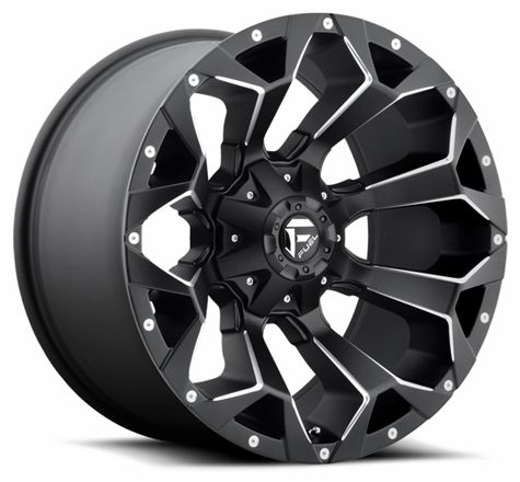 "17"" 18"" 20"" Fuel Wheels D546 Assault BK Off Road Rims"