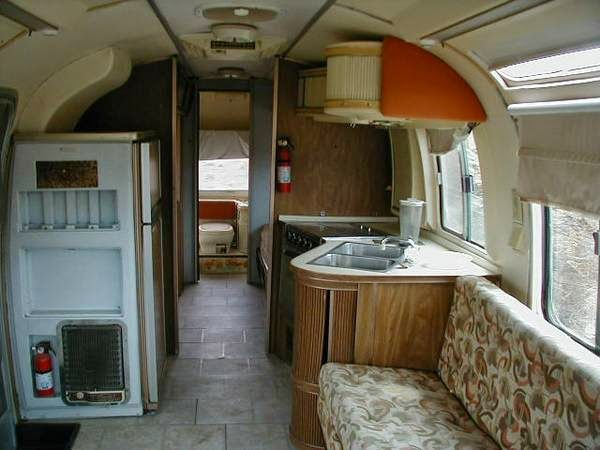 4x4 Motorhomes Interior Used Rvs 1976 Airstream Argosy