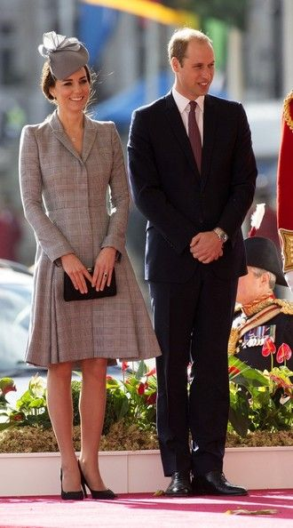 Prince William Photos: British Royals at the Royal Garden Hotel