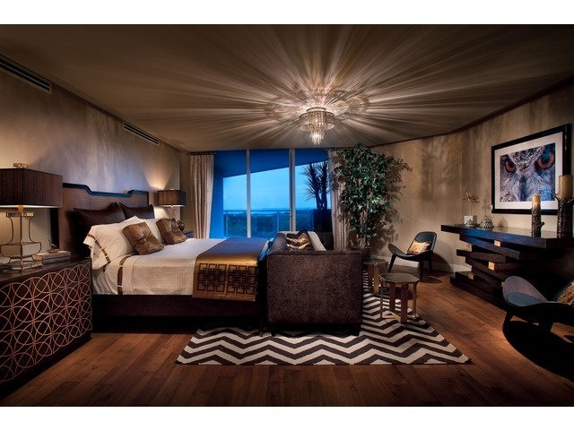 Sultry Dark Dramatic Bedroom Moraya Bay Naples Fl