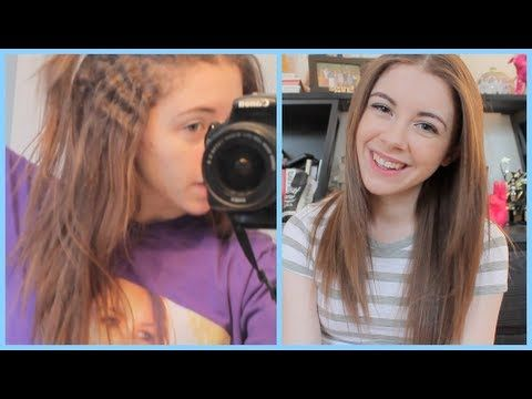 Permanently Straightened Hair: What it is, Advice, +more! - YouTube (Japanese Straightening)