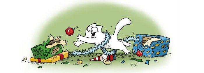 Noël: agaçant ou agréable? @LaHordeGeek y réfléchit en regardant Simon's Cat. #noel  http://www.lahordegeek.com/vie-de-geek/noel-agacant-ou-agreable/