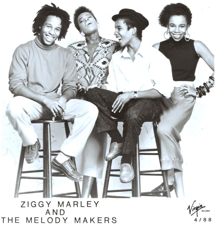 Ziggy Marley and The Melody Makers, circa 1988 - http://goo.gl/u4xQRt