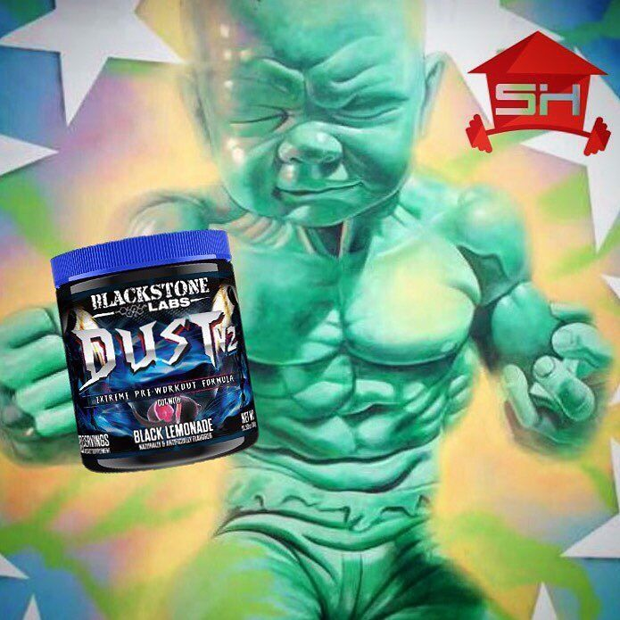 BLACKSTONE DUST GETS YOU PRE WORKOUT PUMPED  #fitfam #fitspo #weightraining #weights #workout #exercise #training #pushyourself #strength #strong #supplements #fit #fitness #gym #heathy #lift #bodybuilding #nutrition #motivation #muscle