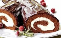 YULE LOG:  A chocolate Yule Log is the most impressive dessert you can serve during the holiday season. It is not simple to make a Yule Log but this recipe using Betty Crocker devil's food cake mix makes the preparation much easier.