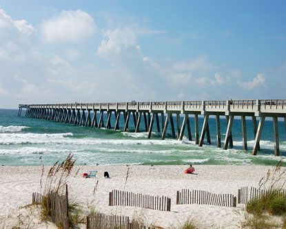Navarre, FL.  White sandy beach been there almost every summer since I was 13.