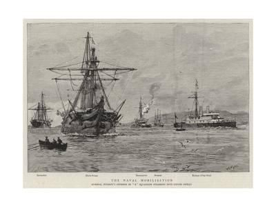The Naval Mobilisation Giclee Print by William Lionel Wyllie at Art.co.uk