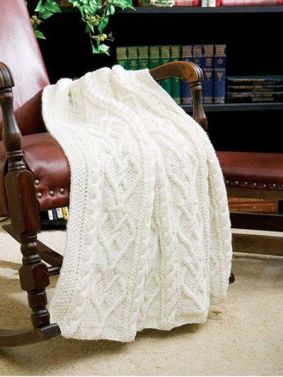 Knitting - Wedded Hearts Throw - #EK00806