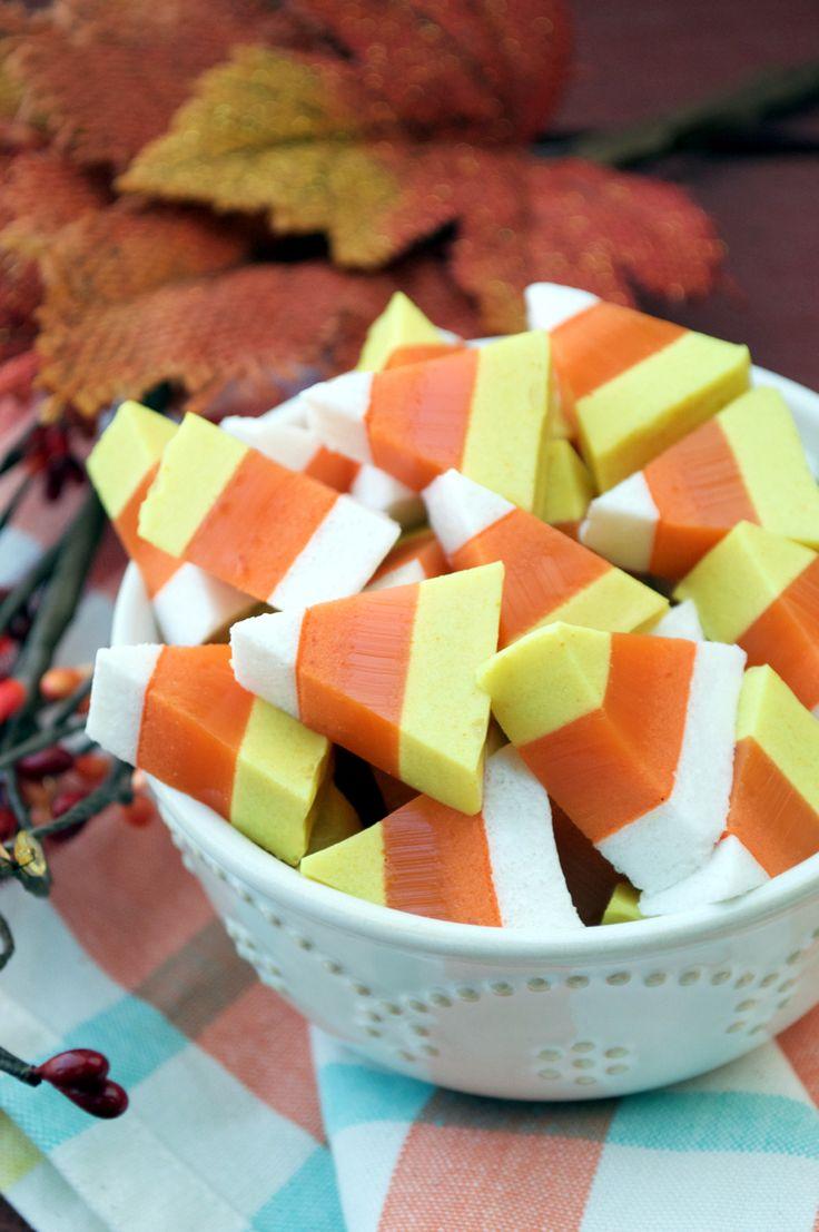 Paleo Candy Corn Gummies | Plaid and Paleo