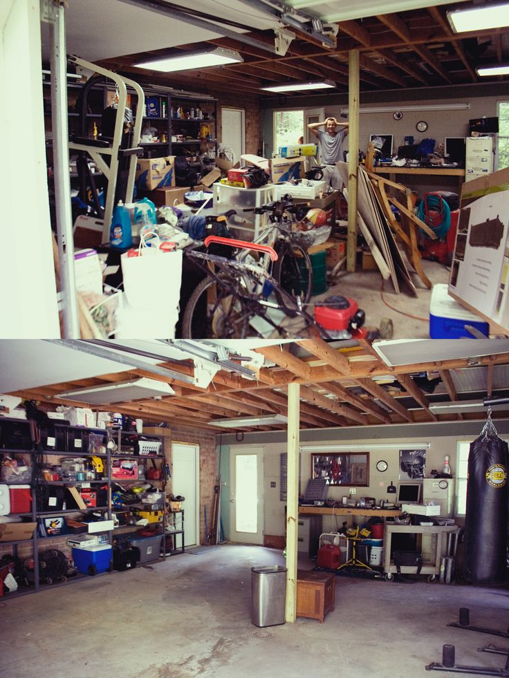 De-clutter Before And After