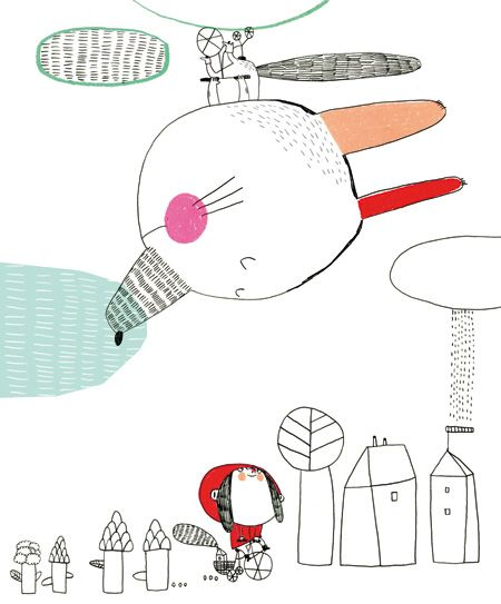 Illustration   La maison est en carton ! - Christine Roussey