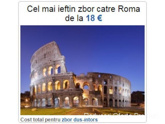Best deal zbor Roma %u2013 de la doar 18 euro! | Reduceri Oferte si Promotii in Romania | Bilete de Avion