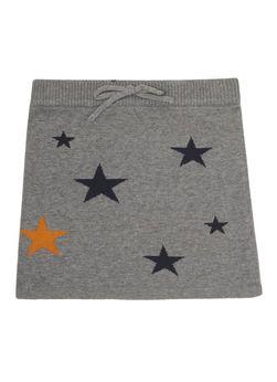 Dress like Flo Gebreide rok met sterren
