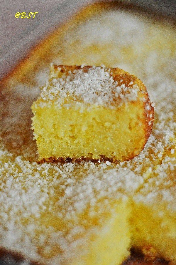 Basseema/ Bassima ~ Egyptian Coconut Cake