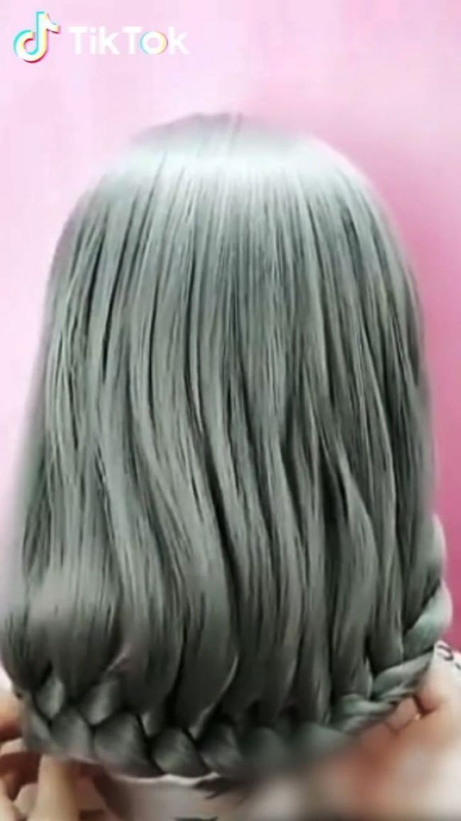 Super Easy To Try A New Hairstyle Download Tiktok Today To Find More Hairstyle Try It Out Hair Braid Videos Hair Styles Long Hair Styles