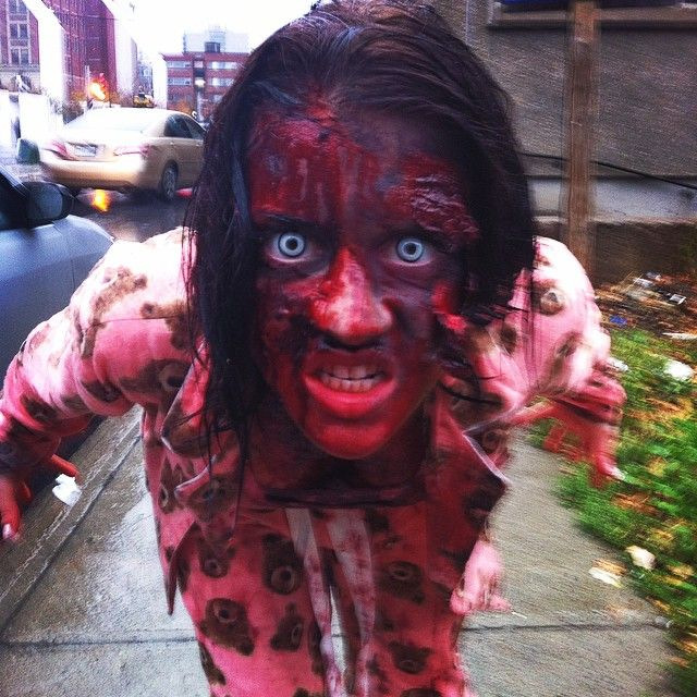 38 Blood-Curdling Zombie Walk Photos on Instagram