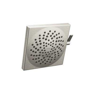 moen velocity 25 gpm shower head finish brushed nickel