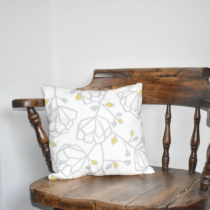 Scandi style handmade cushion