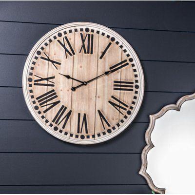 Northrop Wine Barrel 24 Quot Wall Clock Cricut Traditional