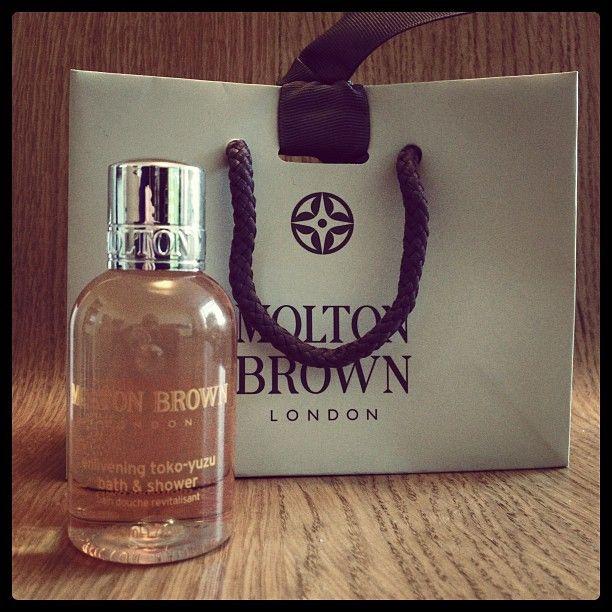 Molton Brown showergel from #regenttweet