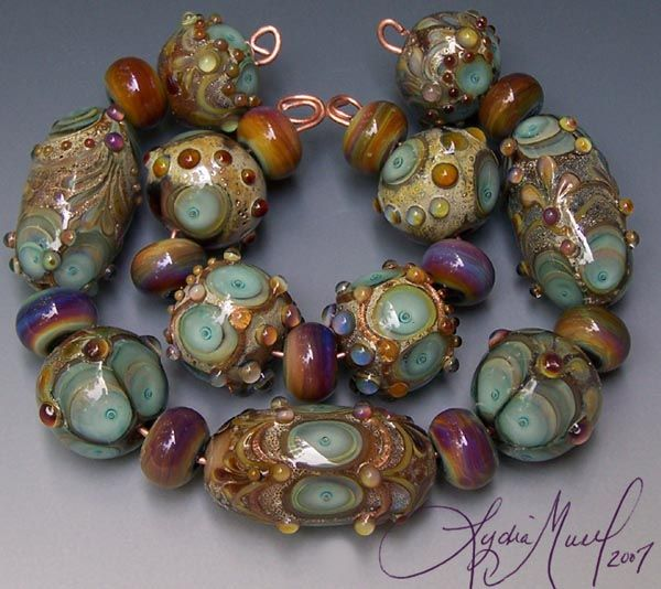 fine lampwork by lydia muell gallery of lampwork bead sets