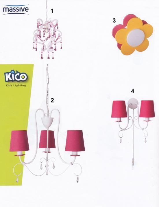 Svietidlá.com - Massive - Pinko + Princess + Florie - Detské svietidlá - svetlá, osvetlenie, lampy, žiarovky, lustre, LED