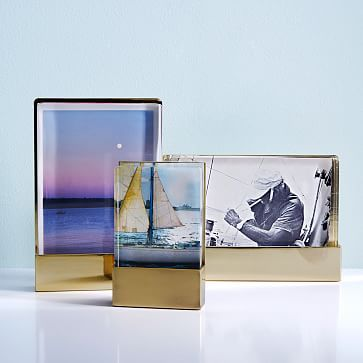 Acrylic + Metal Frames / Size: Get all 3 / Cost: $77 for all 3 sizes