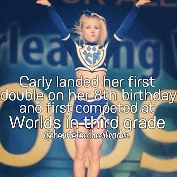 Just one reason she is my inspiration<3 #cheer #stunt #thingsweloveatspiritaccessories