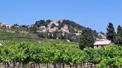 Rasteau vignoble route des vins d orange a vaison la romaine