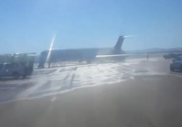10-12-15 Allegiant flight 516 engine fire on tarmac Vegas - Aviation Inspector
