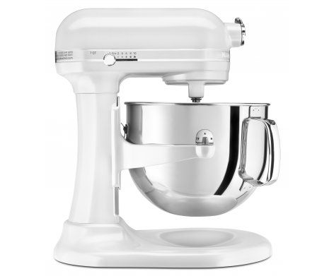 The Pro Line Series 6.9L Bowl-Lift Stand Mixer in Frosted Pearl.  It boasts the most powerful KitchenAid motor EVER along with the largest capacity for 6.9 litres of magnificent mixing muscle.