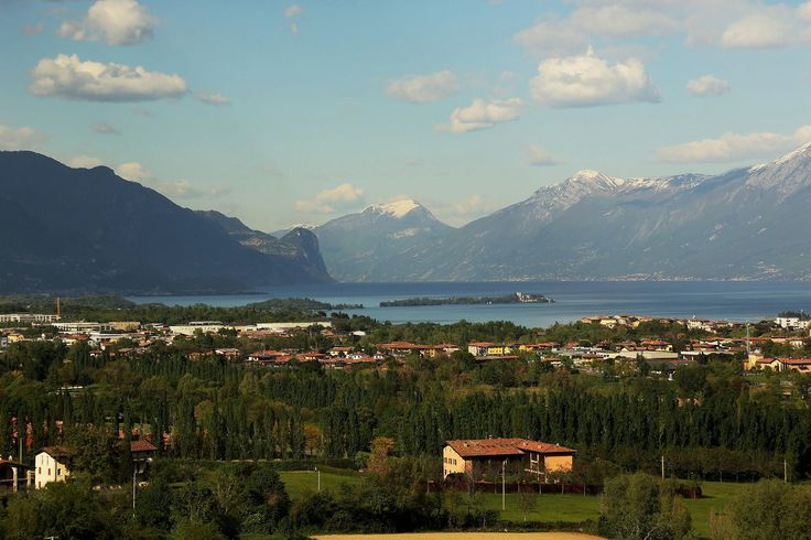 Isola del Garda takes centre stage right in the middle of Lake Garda.