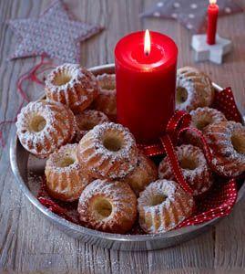 Mini-Gugelhupfe - Gemütlicher Adventskaffee - [LIVING AT HOME]