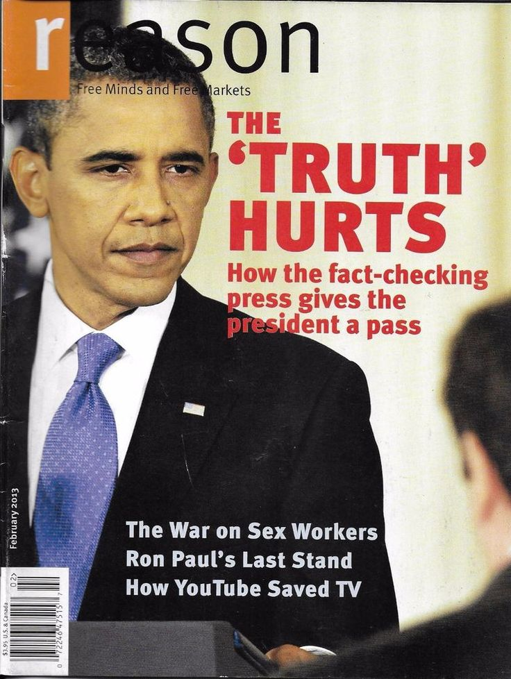 Reason magazine Barack Obama and fact checking press Sex workers Ron Paul