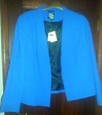 Electric Blue Smart Classic Jacket size 22 Debenhams Collection - Wedding NWT