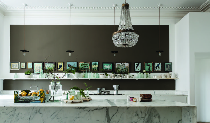 Best 334 Best Kitchen Inspiration Images On Pinterest Farrow 400 x 300