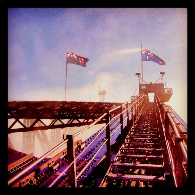 September 2013- climb the Sydney harbour bridge!