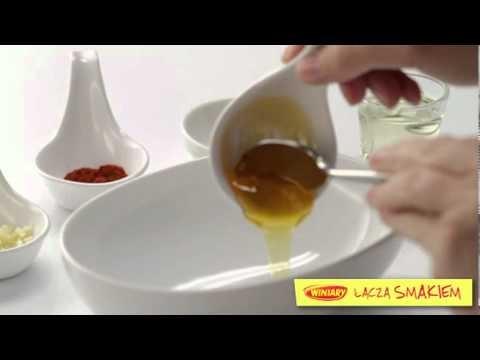 winiary szkoła gotowania - sałatka z mango i krewetek omnomnomnom