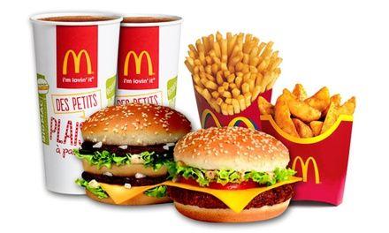 Restaurant Mc Donald's Originals - Centre commercial Bordeaux Lac : McDonald's : 2 Menus Maxi Best Of™ au choix