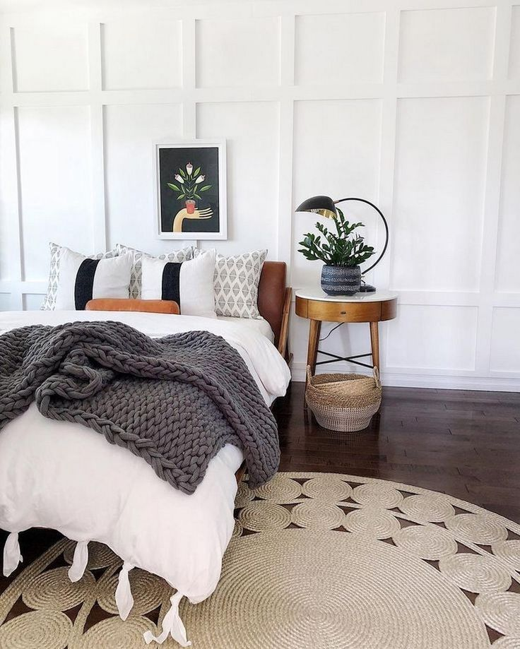 15 Wicked Rustic Bedroom Designs That Will Make You Want Them: 73 Elegant Boho Bedroom Decor Ideas For Small Apartment 20