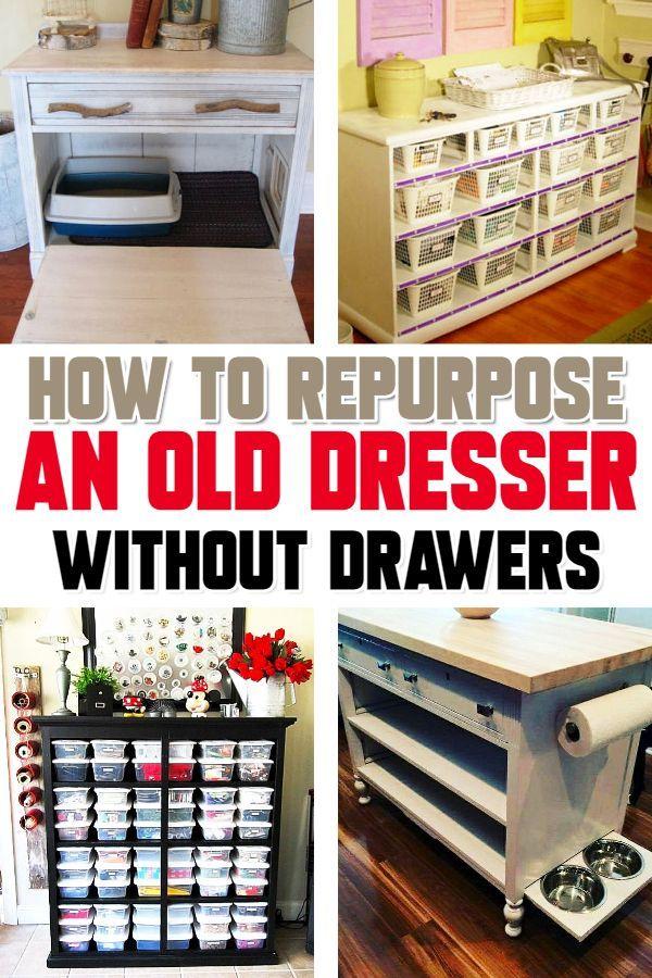 Diy Dresser Repurposed Furniture