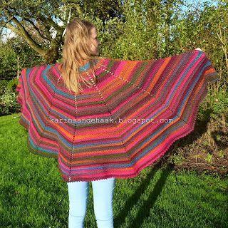 Kijk wat ik gevonden heb op Freubelweb.nl: sjaal gehaakt met Fenna - gratis patroon van Karin aan de Haak http://www.freubelweb.nl/freubel-zelf/zelf-maken-met-haakgaren-200/
