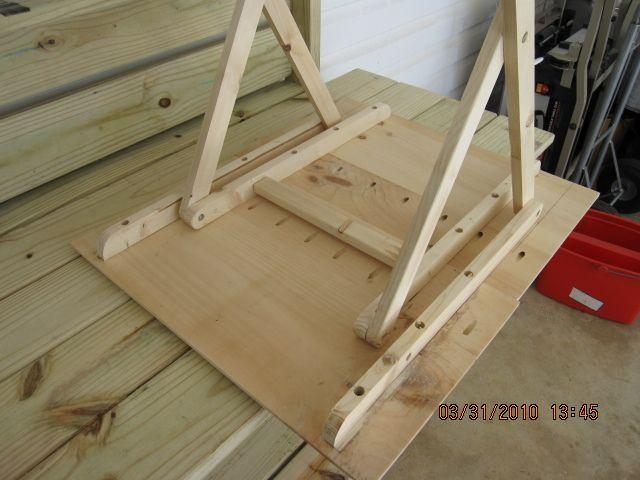 Раскладной стол бабочка на базар. | Столярный плотницкий блог.