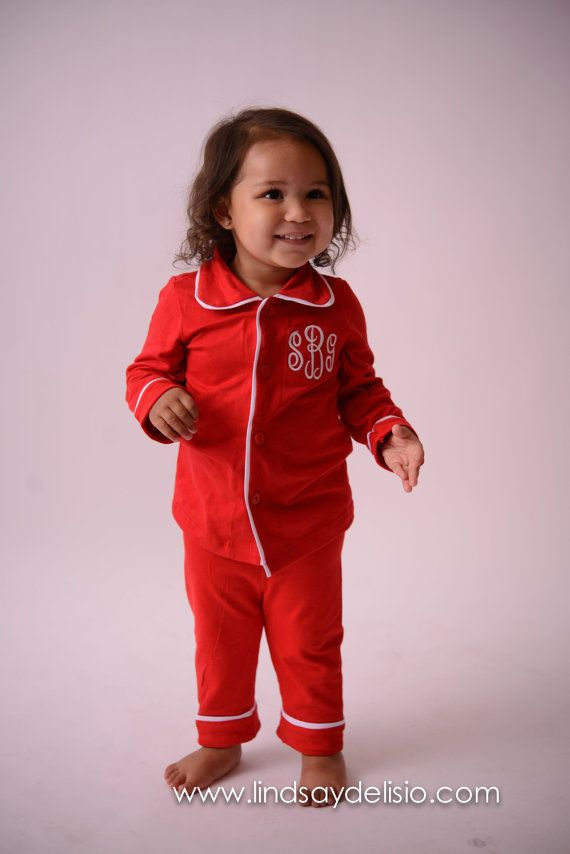 Hey, I found this really awesome Etsy listing at https://www.etsy.com/listing/464138380/christmas-pajamas-for-kids-monogrammed