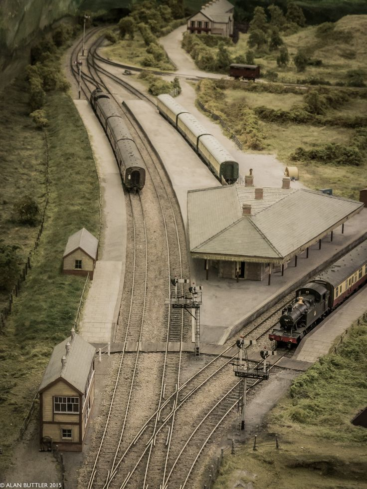 https://flic.kr/p/s1Kbjk | Barmouth Junction | Geoff Taylor's Barmouth Junction Layout oswestryworks.wordpress.com/2015/03/29/mawddach-interlude/