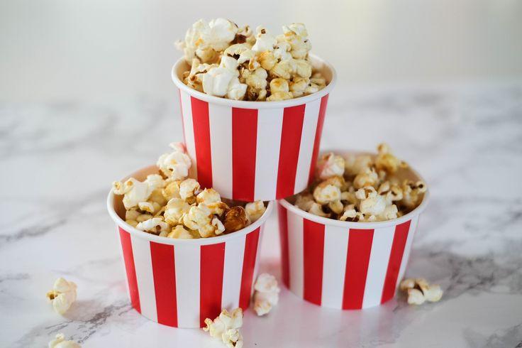 Das allerbeste ultimative Popcorn Rezept und alles rund ums Thema Movie Night, Filmeabend, inhouse date night