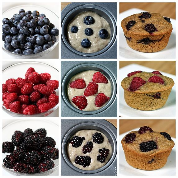 Make-Ahead Magic Muffins -- 12 healthy flavors from one multigrain refrigerator batter