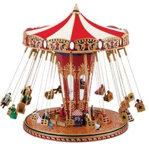 World's Fair Swing Carousel Music Box... that ride is so fun...